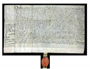 surrender document and seal