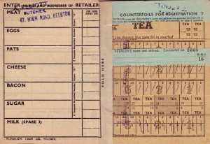 WW2 ration book0002