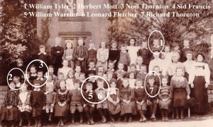 1905 school WW! names