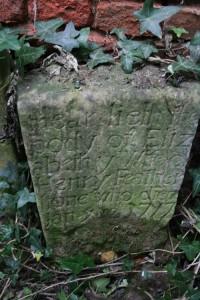1777 gravestone Thurgarton Eliz Featherstone