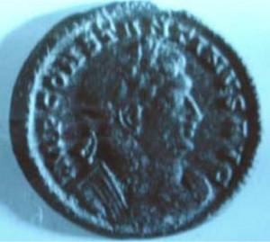 Coin of Constantius AD 324-337
