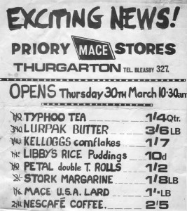 Exciting News Thurgarton Stores