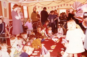 Tea and Games for the Silver Jubilee in 1977