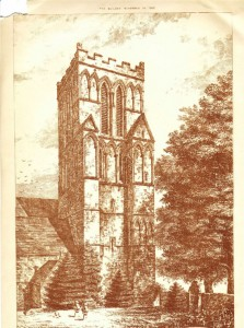 Thurgarton Church and Priory Sketch Builder Magazine
